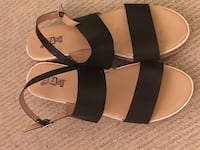 Women's Black strap sandals size 9 Silver Spring, 20902