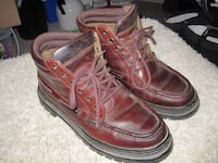 Timberland's Leather Everyday Wear Ankle Boots - Size 9.5 Winnipeg