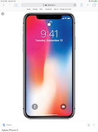 space gray iPhone X screenshot Los Angeles, 90015