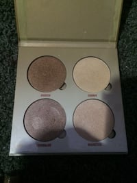 white and brown eyeshadow palette STOCKTON