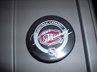 Yvon Cournoyer Autographed NHL Montreal Canadien Puck null