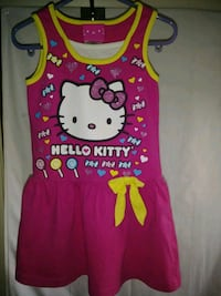 Three Pieces 3T Hello Kitty, Supergirl,  Flowers Sinking Spring, 19608