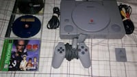 Ps1 3 games 1 controller, memory card and cords  Bloomington, 61704