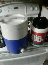 Two coolers one Coleman and 1 big gulp new Vaughan, L6A 1H2