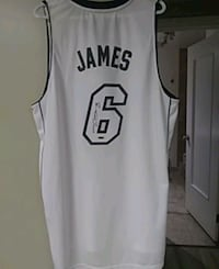 white and black Nike basketball jersey Edmonton, T5W 2K7