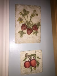strawberry and apple embossed decors Toronto, M9P 2J3