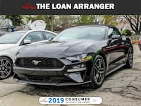 2018 Ford Mustang with 7,879km and 100% Approved Financing