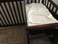 Bed and changing table Springfield, 22150