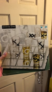 Drinking Game tic-tac-toe shots