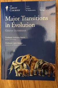 Major Transitions in Evolution. Course Guidebook and 4 Discs.