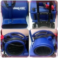 Shop-vac air mover fan Bradford West Gwillimbury, L3Z 3K7