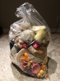 Big garbage bag of toys - $10 for all  Oakville, L6M 3Z7
