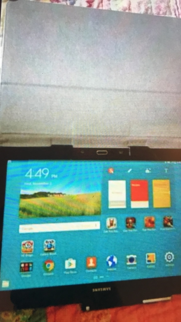 Letgo Black Samsung Tablet Computer In Sylvan Beach Tx