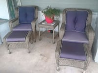 two purple and gray armchairs Middle River, 21220