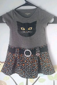 2t Black Cat Dress Garland, 75044