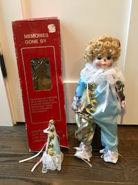 Collectible Porcelain Doll 47 km