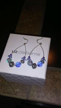 New Sterling silver earrings Winchester, 40391