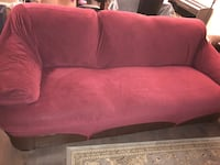 3 Seater sofa with new cover
