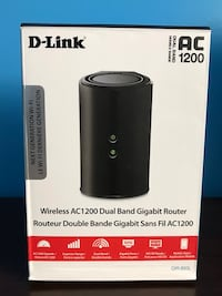 DLink AC1200 Dual Band Fast Wifi Router Mississauga, L5V 2L3
