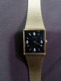Gold Bulova Watch Sexsmith, T0H