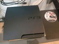 black Sony PS3 slim console Toronto, M9M 2T4