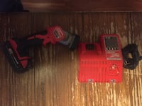 red and black Milwaukee power drill Surrey, V3R 2K8