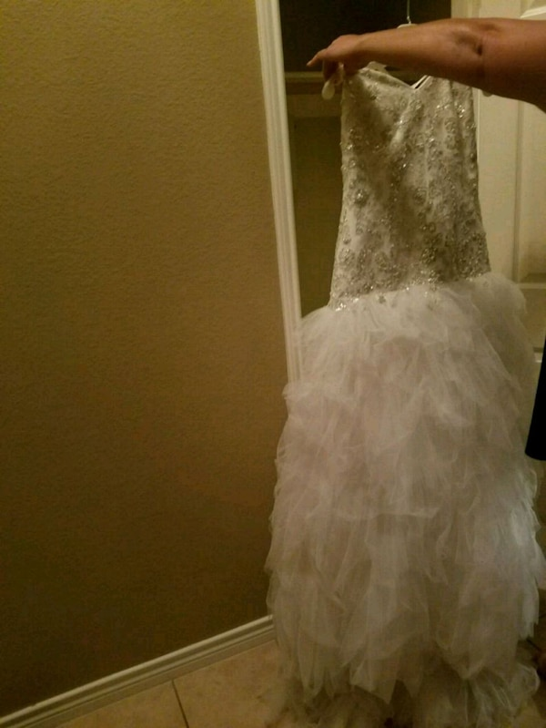 a432f6c9b20 Used Size 18 David s Bridal Wedding Dress for sale in Sachse - letgo