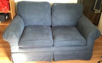 Cute blue couch