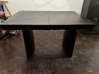 rectangular black wooden coffee table Toronto, M2J 2C6