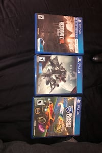 All 3 games for 30$ Los Angeles, 91306