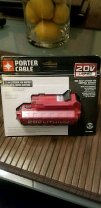 Porter cable battery for cordless drill (new) 785 km