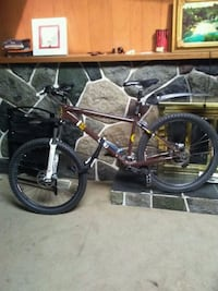 black and yellow hardtail mountain bike Surrey, V3X 1N1
