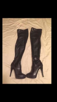 Size 7 Guess thigh high boots New York, 11377