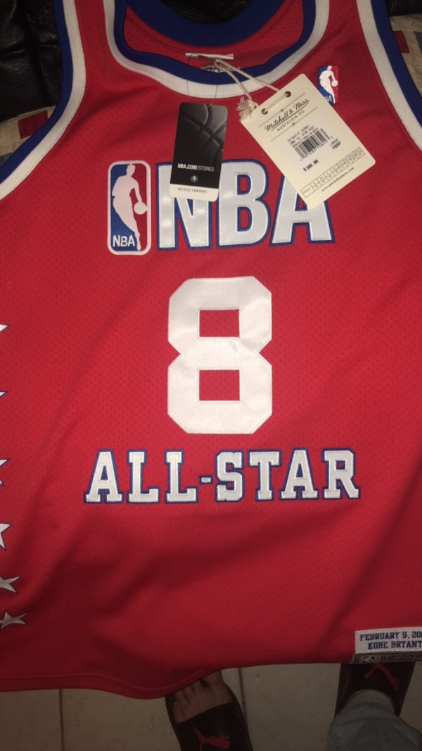 f495eec67 Kobe Bryant jersey Mitchell and ness all star game jersey size large ...