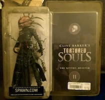 Clive Barker's Tortured Souls Action Figures