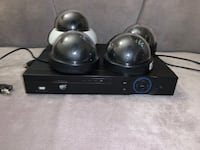 4 working CCTV Cameras with an 8 channel DVR (hard drive INCLUDED) Toronto, M1T 3P4