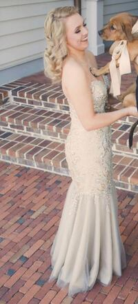 Champagne Gold Prom Dress Phenix City, 36867