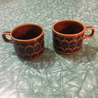MCM Hornsea Heirloom Tea Cups Vancouver, V5K 3E4