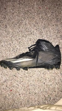 Adidas cleats size 12. GOOD CONDITION. WILL BE CLEANED. GREAT DEAL