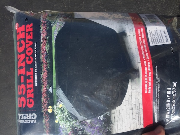 Used Backyard Grill 55 Inch Grill Cover For Sale In Chicago Letgo