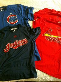 Set of 4 MLB Majestic Dri Fit jerseys Manassas, 20109