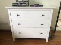 Free Ikea bedside table with chest of drawers  Newton