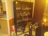 black wooden framed glass display cabinet Waynesboro, 17268