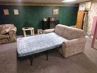 Sectional mattress couch bed Kansas City, 66109