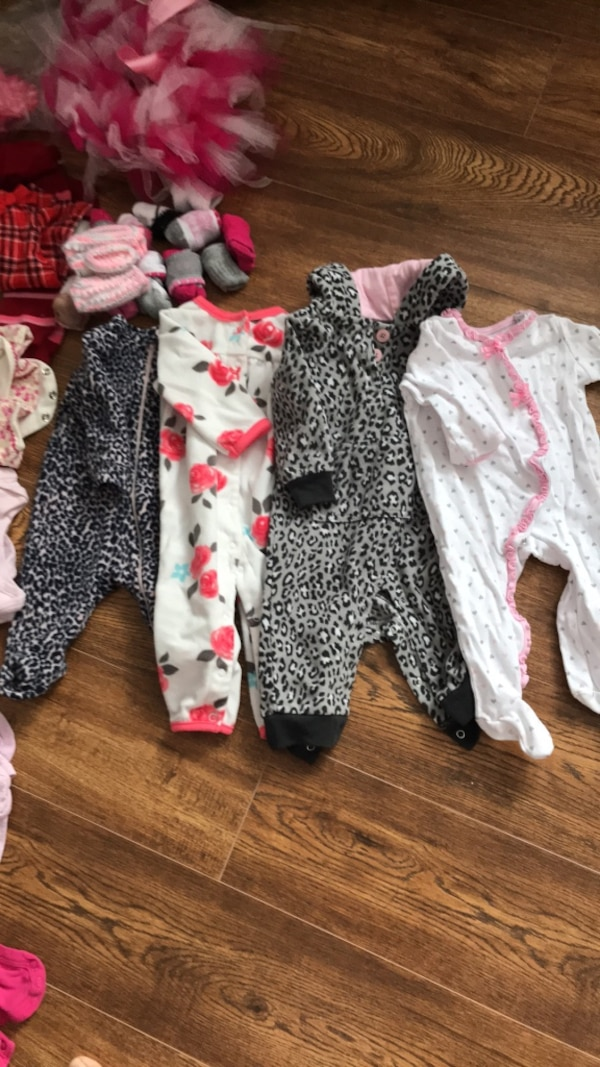 87171dbbb Used 3-6 month baby girl clothing lot for sale in Fort Erie - letgo