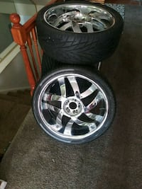 22inch rims and tires Capitol Heights, 20743