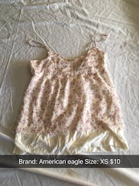 women's white and brown floral dress screenshot Bend, 97701