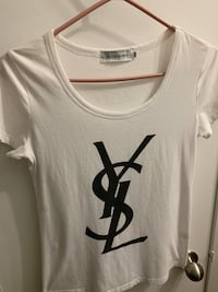 White t shirt , size M.Send me your offer. Thanks Vancouver, V6G