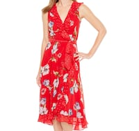 Danny and Nicole Sleeveless Floral Dot Dress Ashburn, 20148