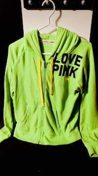 Victoria's Secret pink zip up sweater hoodie Edmonton, T6K 2Y6